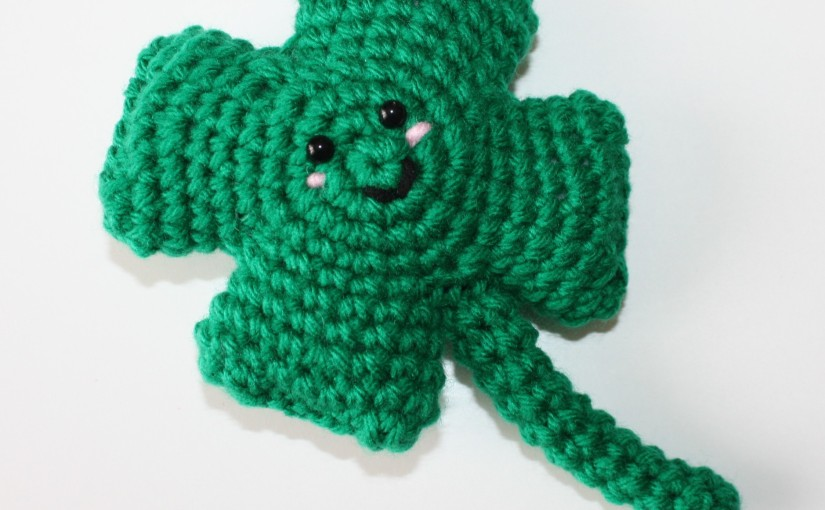 Four Leaf Clover Crochet Pattern